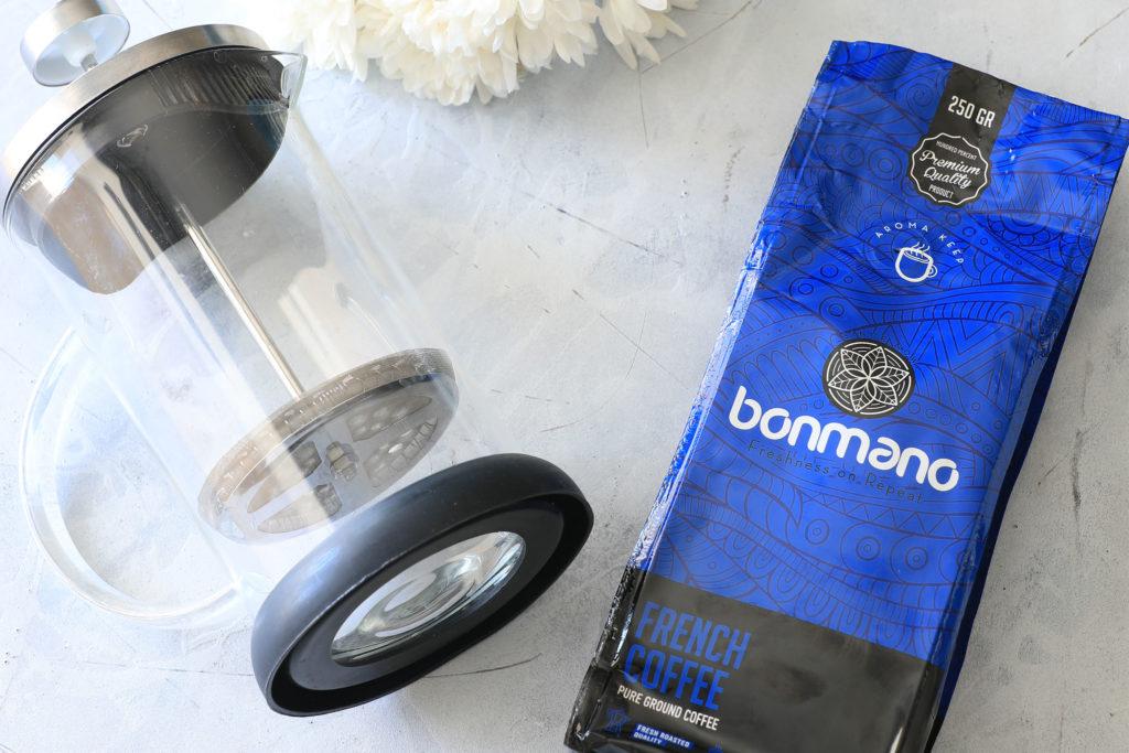 قهوه فرانسه با فرنچپرس